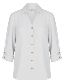 Millers Textured Cheesecloth Shirt
