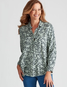 Millers Printed Utility Shirt