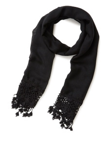 Millers Lace Scarf