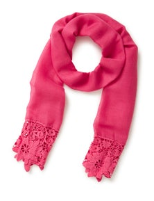 Millers Lace Border Scarf