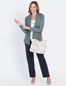 Millers Neutral Paisley Tote