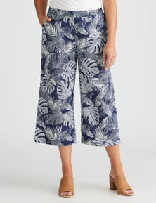 Millers Cotton Slub Crop Pant