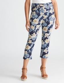 Millers cropped length printed jean