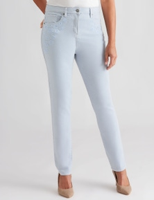 Millers embroidered jean