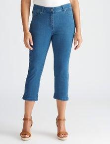 Millers 5 pocket crop jean