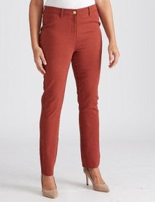 Millers Full Length zip front colour Jegging