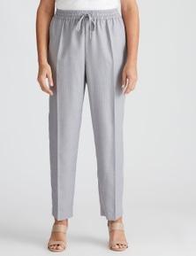 Millers Full Length P/V Pull On Striped Pant