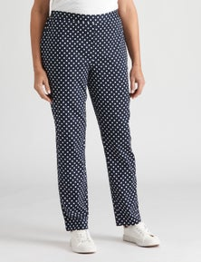 Millers full length flat front pant