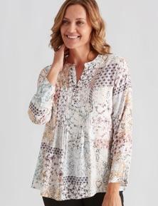 Milllers Printed Longline Soft Shirt