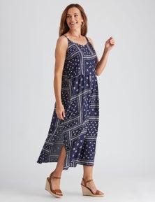 Millers Layered Rayon Maxi Dress