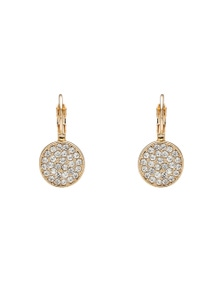 ROUND DIA DROP EARRING