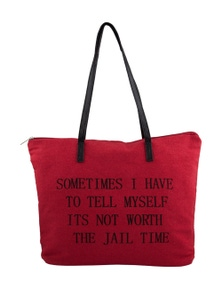 JAIL TIME TOTE