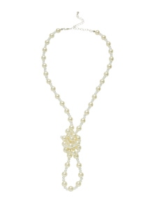 ALL KNOTTED UP PEARL NECKLACE