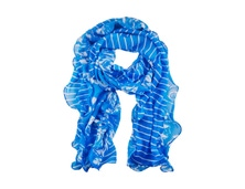 FLORAL FRILL SCARF