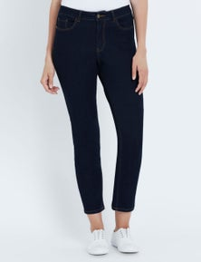 NONI B CASSIDY FLY FRONT JEAN SHORT