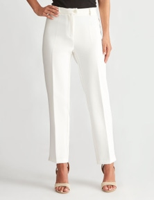 LIZ JORDAN SLIM LEG BUTTON PANT
