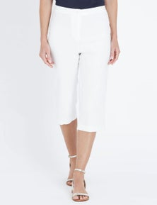 NONI B 3/4 FLY FRONT BENGALINE PANT
