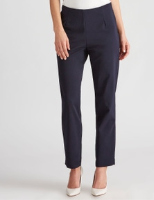 LIZ JORDAN FULL LENGTH SIDE ZIP SLIM PANT
