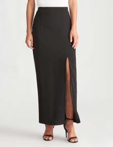LIZ JORDAN SIDE SPLIT LONG SKIRT