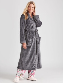 NONIB PLUSH POLKA DOT ROBE