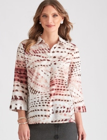 LIZ JORDAN COTTON VOILE SHIRT