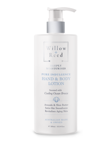 WILLOW + REED PURE INDULGENCE HAND & BODY
