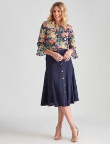 NONI B Rivers Lyocell Shirt Dress