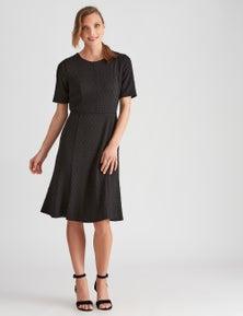 LIZ JORDAN TEXTURED DRESS