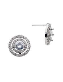Liz Jordan Scarlett Stoneset Pierced Earrings