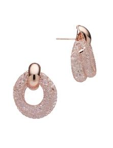 Liz Jordan Mesh  Loop Pierced Earring