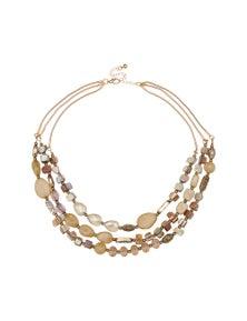 Liz Jordan All Sorts 3 Strand Necklace