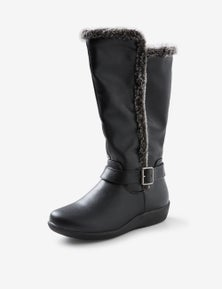 Riversoft Ath Leisure Faux Fur Tall Boot