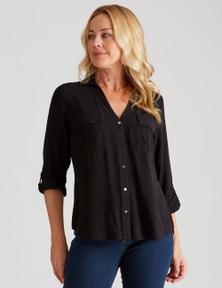 Rivers Long Sleeve Double Pocket Shirt