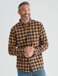 Rivers Long Sleeve Flannelette Check Shirt