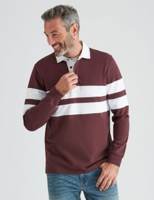 Rivers Panel Rugby Top