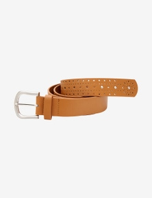 Rivers Laser Cut Belt With Studs