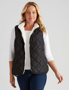 Rivers Reversible Sherpa Vest