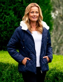 Rivers Sherpa Quilted Padded Jacket