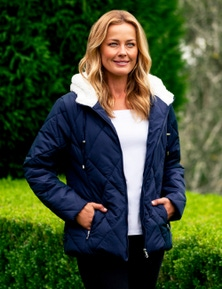 Rivers Sherpa Quilted Hooded Jacket