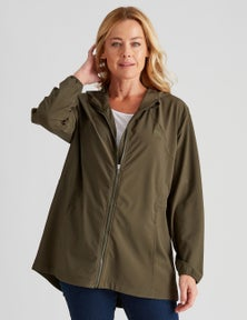 Rivers-Tex Hooded Soft Shell Anorak Jacket