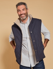 Rivers Quilted Sherpa Lined Vest
