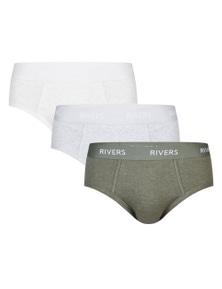Rivers 3 Pack Brief Fashion