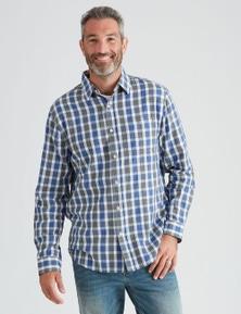 Rivers Long Sleeve Cotton Check Shirt