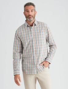 Rivers Long Sleeve Triple Check Shirt