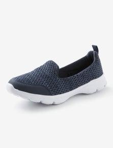 Rivers Barefoot Memory Foam Knitted Slip On Runner