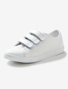Rivers Leathersoft Triple Strap Rip Tape Sneaker
