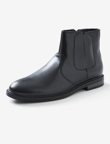 Rivers Side Zip Leather Boot