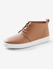 Rivers Leathersoft High Top Lace Up