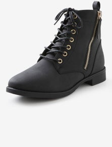 Riversoft High Top Lace Up Boot