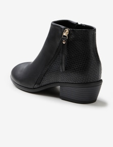 Riversoft Assymetric Mixed Material Boot